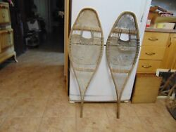 antique snowshoes complete nice 14 x 42 nice # 2844 $54.99