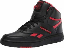 Reebok BB 4600 Black Red Hi Basketball Mens Shoes Sneakers Size 7 13 $59.95