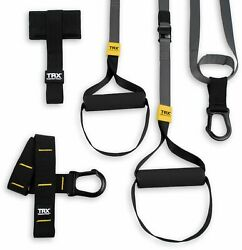 TRX Fit System Suspension Trainer Black Gray Yellow