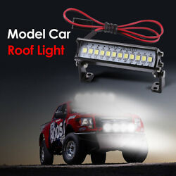 LED Light Model Truck Roof Lamp Bar for 1 10 RC Climbing Car Model Accessories $5.99