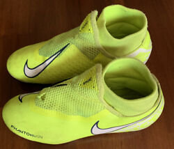 Nike Mercurial Mens Boys Soccer Cleats Size 5.5 Neon Yellow $9.99