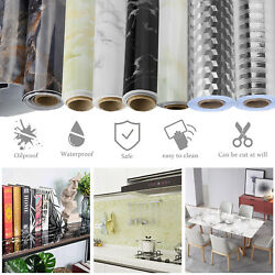 Wall Sticker Self Adhesive Oil Proof Waterproof Contact Paper Kitchen Home Deco $16.95