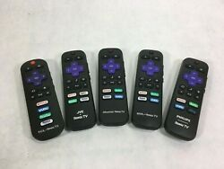 Genuine Roku Smart TV Remote Control TCL JVC Onn Hisense Philips RR $7.00
