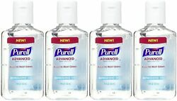Purell Advanced Hand Sanitizer Refreshing Gel 1 FL OZ Pack of 4 Total 4 oz $9.99