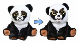 WMC FEISTY PETS BLACK BELT BOBBY PANDA PLUSH TOY NICE TO FEISTY WITH A SQUEEZE AU $26.95