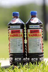 Two 2 Danncy Pure Mexican Vanilla Extract Dark 1 Liter Each $20.00