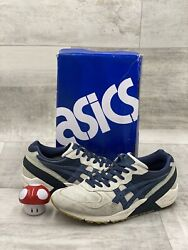 ASICS GEL SIGHT RONNIE FIEG KITH PACIFIC WCP OFF WHITE NAVY BLUE H50CK 9950 8.5 $59.99