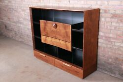 Gilbert Rohde for Herman Miller Paldao Bookcase Cabinet With Secretary Desk $9500.00