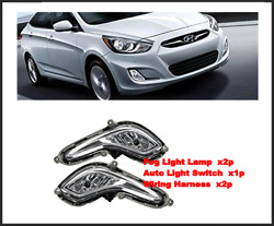 OEM Fog Light LampSwitchWiring 5p for Accent 11 13 922011R000 ; 922021R000 $165.98