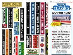CITY CLASSICS HO ROOFTOP COMMERCIAL SIGNS #1 803