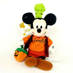 Disney Store Mickey Mouse as Goofy Bean Bag Halloween Costume Plush $19.99