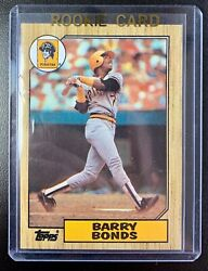 1987 Topps #320 BARRY BONDS Rookie RC Baseball Card NM MT Pittsburgh Pirates $12.99