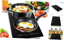 Dual 120V Electric Induction Cooker 1800w Portable Digital Ceramic Countertop $235.53