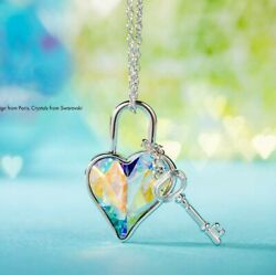Key and Heart Necklace BNIB by Touchstone Crystal and $12.99