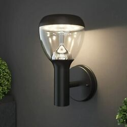 NBHANYUAN Lighting LED Outdoor Wall Light Fixtures Exterior Lights Black