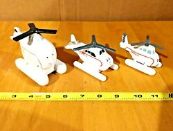 X 3 Thomas amp; Friends Harold The Helicopter Toys Diiderent Series $12.49