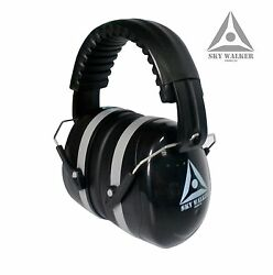 NEW Ear Protection Black with Gray Trim Universal Size Fast Shipping $11.49
