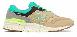 New Balance Men#x27;s 997H Shoes Tan with Blue $59.99