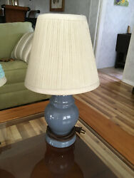 Ceramic Table Lamp Small Bedside Light Living Room Office Lamp $14.00