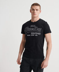 Superdry Mens Vintage Logo Outline Pop T Shirt $14.98