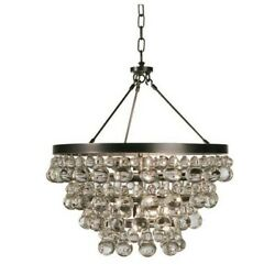 Robert Abbey Lighting Z1000 Bling Chandelier With Convertible Double Canopy $1386.89