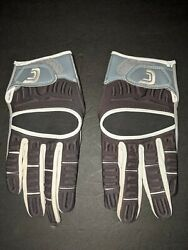 Cutters Football Gloves The Gamer Style # 017XT Black White Gray Size XL $23.10