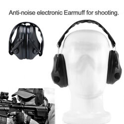 Military Soundproof Earmuffs Electronic Ear Muffs Shooting Hearing Protect US $26.59