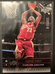 2004 05 2nd Year LeBron James R Class Upper Deck Lakers Cavs $5.00