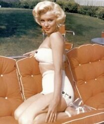 MARILYN MONROE SITTING ON HER ANKLES WITH A BIKINI ON $1.50