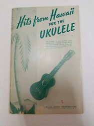 quot;Hits From Hawaii For The Ukulelequot; Original 32 song book 1950 Miller Music Corp. $12.00