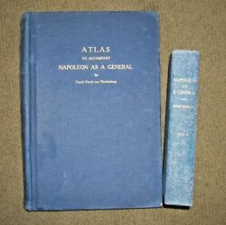 quot;Atlas for Napoleon As A Generalquot; and Vol II of text by Wartenberg 1941 $51.00