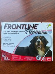 ***SAVE $*** FRONTLINE PLUS for DOGS 89 to 132 lbs. 3 DOSES $23.97
