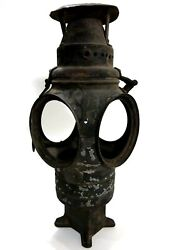 The Non Sweating Adlake Lamp Chicago Railroad Train Antique for Parts or Restore $154.99