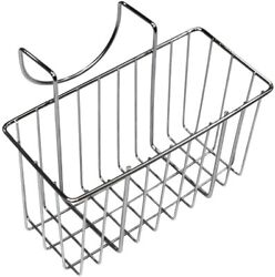 Sponge Holder for Kitchen Stainless Steel Caddy Dish Draining Sink Basket $10.99