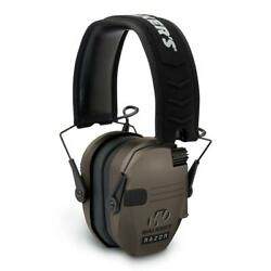 Walkers RAZOR SLIM ELECTRONIC MUFFS FLAT DARK EARTH Hearing Protection $65.92