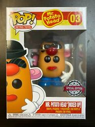 FUNKO POP MR POTATO HEAD MIXED UP SPECIAL EDITION EXCLUSIVE IN HAND $25.99
