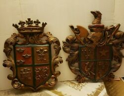 Vintage Wall Shield Set $85.00