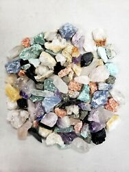 Raw Crystal Small Chips Assorted Crystals Bulk Rough Rocks Collection $8.50