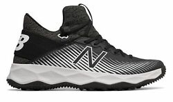 New Balance Men#x27;s FreezeLX 2.0 Turf Lacrosse Shoes Black with White $39.99
