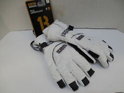 Burton Women's Pele Under Gloves small Brand New With Tags White Black dry ride $39.99