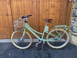 Gorgeous Faraday Cortland Bicycle Seafoam Small Frame Brooks Upgrades $2250.00
