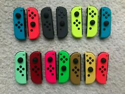 Genuine OEM Nintendo Switch Joy Con Controller Left or Right Various Colors $35.99