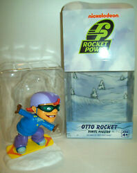 Nickelodeon Nick Box Exclusive Rocket Power Otto Rocket Vinyl Figure CIB $14.99