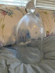 Antique Glass Cloche $125.00