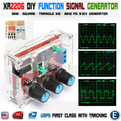 XR2206 Function Signal Generator DIY Kit Sine Output 1HZ 1MHZ acrylic case USA $9.15