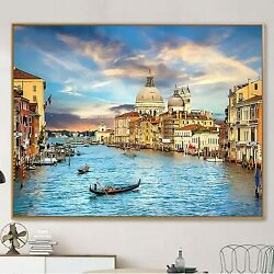 Paint by Numbers DIY Canvas Oil Painting Kit for Adults Kids Beginner 16 x 20 $30.00