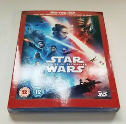 Star Wars: The Rise of Skywalker w Slipcover 3D 2D Blu ray 3 Discs *NEW* $24.48