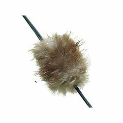 Beaver balls fur bow string silencers traditional recurve longbow compoundbow GBP 3.99