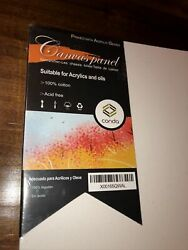8X10quot;Pre Stretched Canvas Lot Blank Frame Large Wall Art Wood Paint Board 12PC $16.99