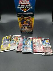 New Rare 2018 YUgioh Mystery Power Box Booster Packs ANCIENT LEGACY Edition $42.00